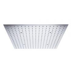 Duschkopf Edelstahl Unterputz Quadratisch 600mm Chrom - Tatham