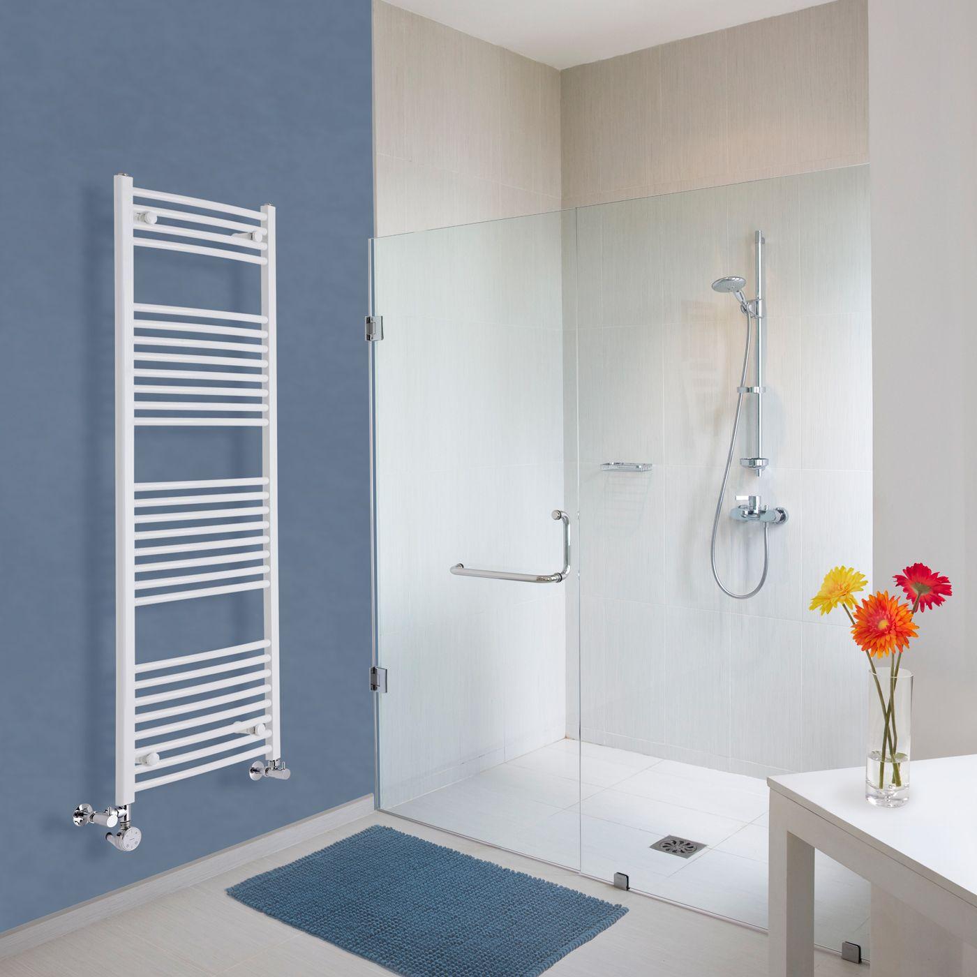 handtuchheizk rper mischbetrieb gebogen wei 1500mm x 500mm 828w etna. Black Bedroom Furniture Sets. Home Design Ideas