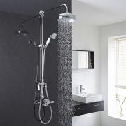 Thermostatisches Dual-Duschsystem traditionelles Design - Topaz I