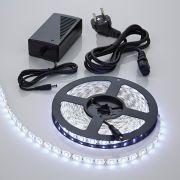 Biard 5m 5050 300 LED Strip Set, kühles Weiß, wasserdicht, inkl. Netzteil