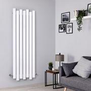 Designer Heizkörper Weiß Vertikal 1600mm x 550mm 1449W - Laeto