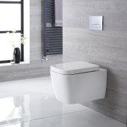 Hänge WC Quadratisch Sitz mit Absenkautomatik - Milton