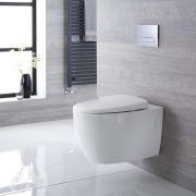 Hänge WC Oval Sitz mit Absenkautomatik - Kenton
