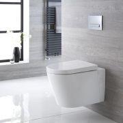 Hänge WC Oval Sitz mit Absenkautomatik - Exton