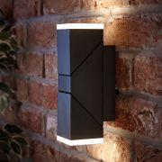 Biard Ziersdorf justierbarer LED Leuchtblock in zwei Richtungen in schwarz