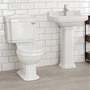 Traditionelle Toilette aus Keramik - Belmont