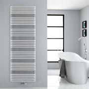 Handtuchheizkörper Vertikal Mittelanschluss Weiß 1800mm x 600mm 2083W - Arch