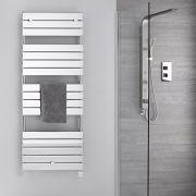 Elektrischer Handtuchheizkörper 1512mm x 600mm Chrom - Lustro