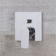 Moderne Manuelle 2-Wege Duscharmatur in Chrom - Harting