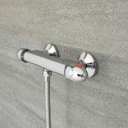 Mischbatterie für Thermostatdusche