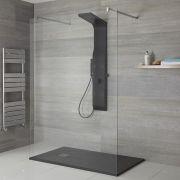 Duschpaneel mit Ablage & Massagedüsen, nicht thermostatisch - Alston - 3 Farben