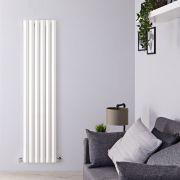 Design Heizkörper Vertikal Einlagig Weiß 1780mm x 420mm 1050W - Vital