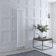 Gliederheizkörper, Elektrisch, 1500 x 380mm, 1200W, Weiß, WLAN-Thermostat wählbar - Regent