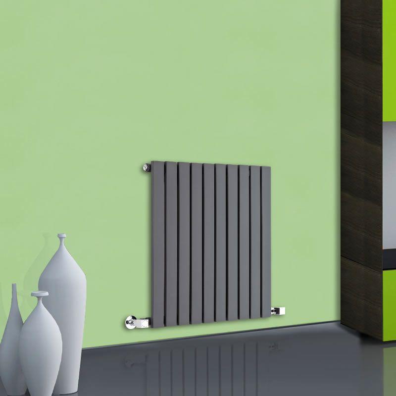 design heizk rper horizontal einlagig anthrazit 635mm x 600mm 601w sloane. Black Bedroom Furniture Sets. Home Design Ideas