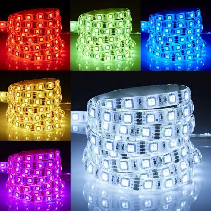 Biard 5m 5050 300 LED Strip, farbwechselnd, Wasserfest IP65