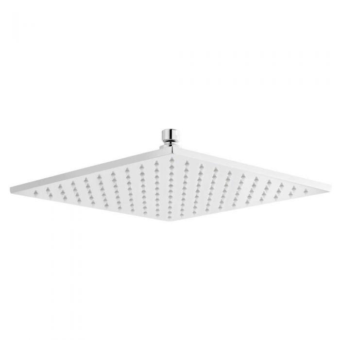 Duschkopf Quadratisch mit LED-Licht 30 cm