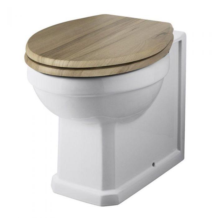 Keramik-Toilette mit wählbarem WC-Sitz - Amersham Richmond