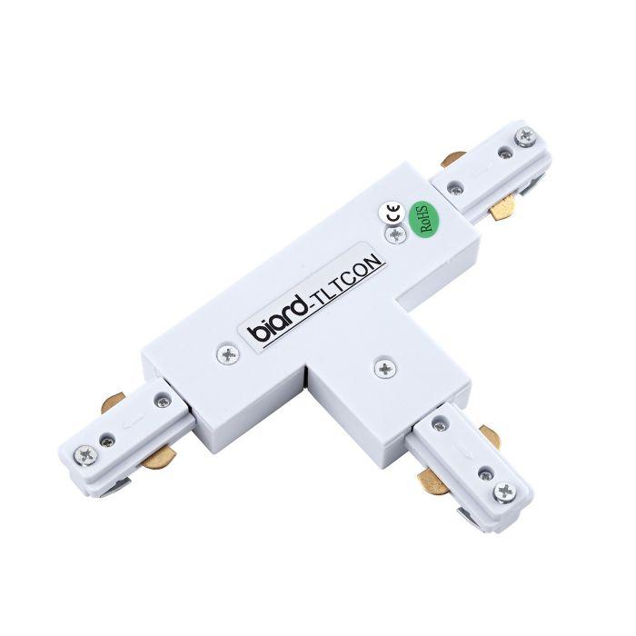 Biard Stromschienenverbindungsstück T-Förmig Weiß
