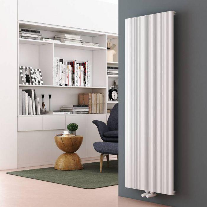 Aluminium Design Heizkörper Vertikal Weiß 1600mm x 565mm 1833W - Lex