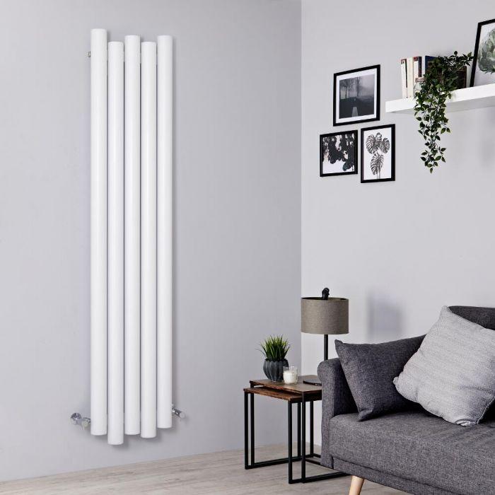 Designer Heizkörper Weiß Vertikal 1800mm x 390mm 1170W - Laeto