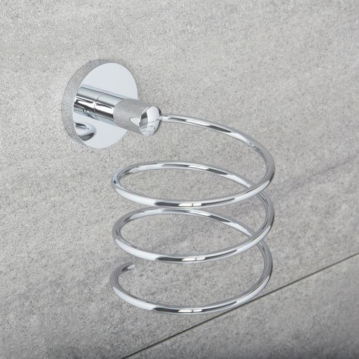 Haartrocknerhalter runde Abdeckung- Prise