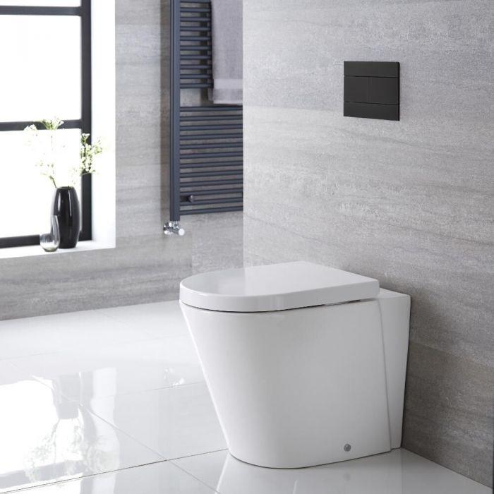 Stand-Tiefspül-WC, Sitz mit Absenkautomatik - Alswear