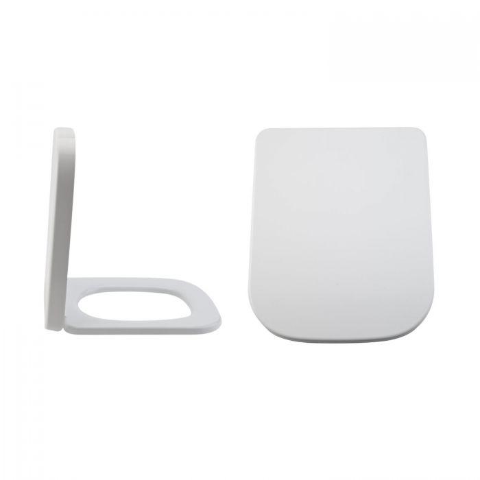 Toilettensitz Duroplast Fast Fix & Absenkautomatik, Befestigung von oben - Milton