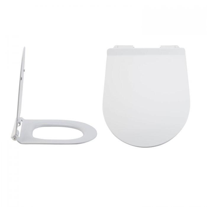 Toilettensitz Duroplast Fast Fix & Absenkautomatik, Befestigung von oben - Otterton
