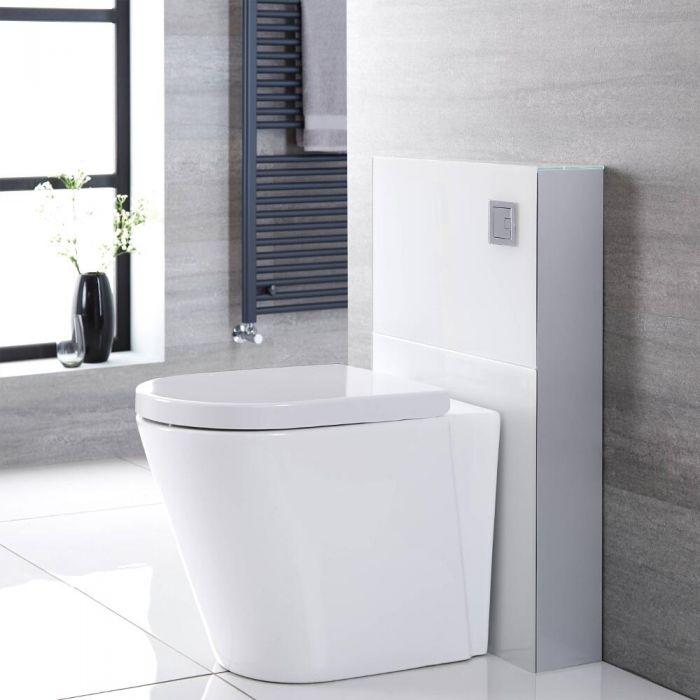 Saru Sanitärmodul H 822mm Weiß für Stand-WC, mit Spülkasten