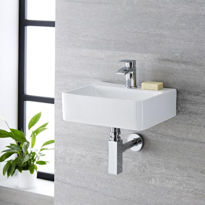 Handwaschbecken Rechteckig 400mm x 295mm - Exton