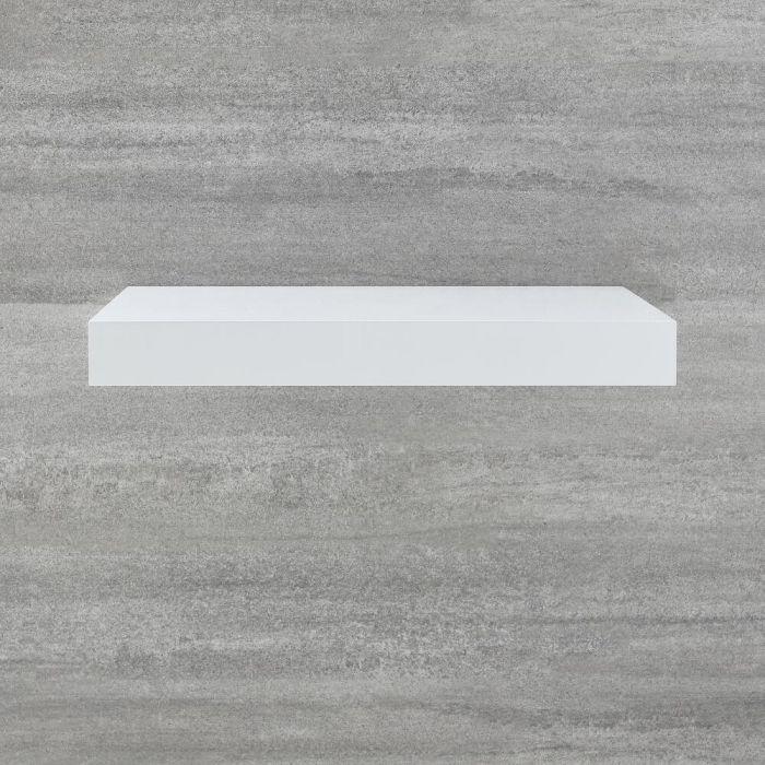 Schweberegal 600mm Weiß - Cluo