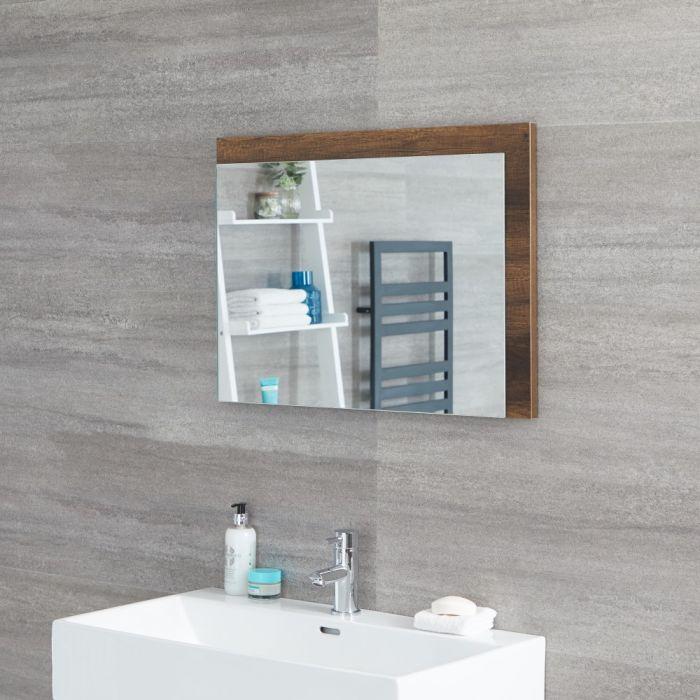Hudson Reed Hoxton - Spiegel Dunkle Eiche 500 x 700mm