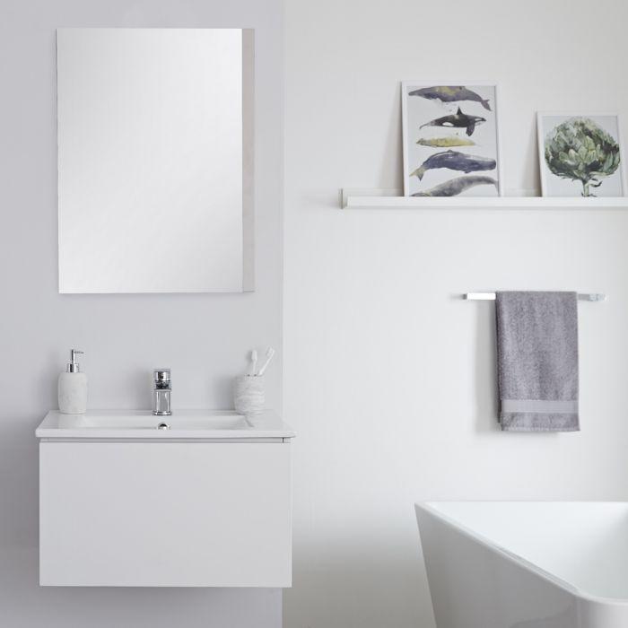 Newington - Waschbecken mit Unterschrank 600mm Mattweiß