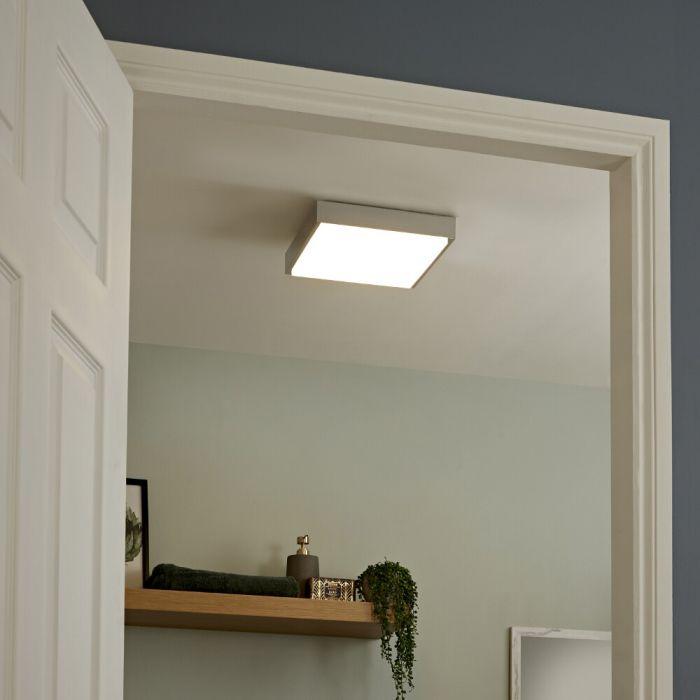 Zell LED Quadratisches Badezimmer Deckenlicht