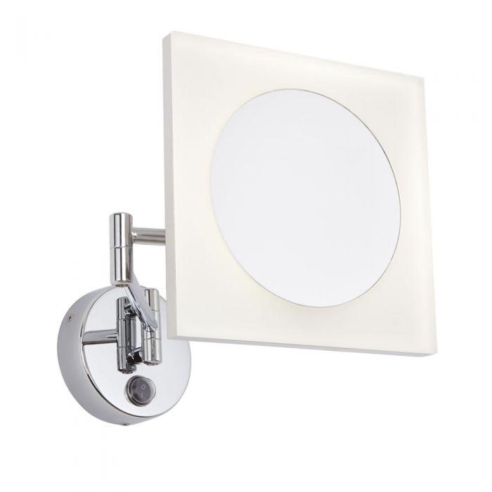 Ladoga LED Kosmetikspiegel für das Badezimmer - Eckig