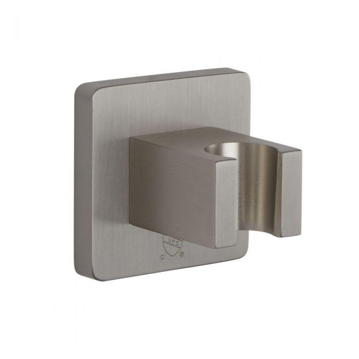 Wandhalterung für Brause - gebürstetes Nickel