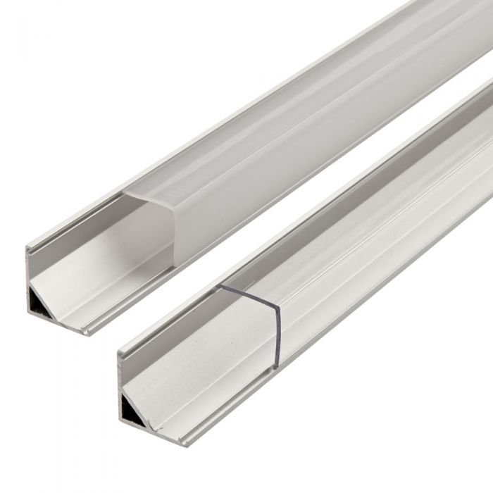 Biard Befestigungs-Schiene V-förmig 100cm für LED Strips
