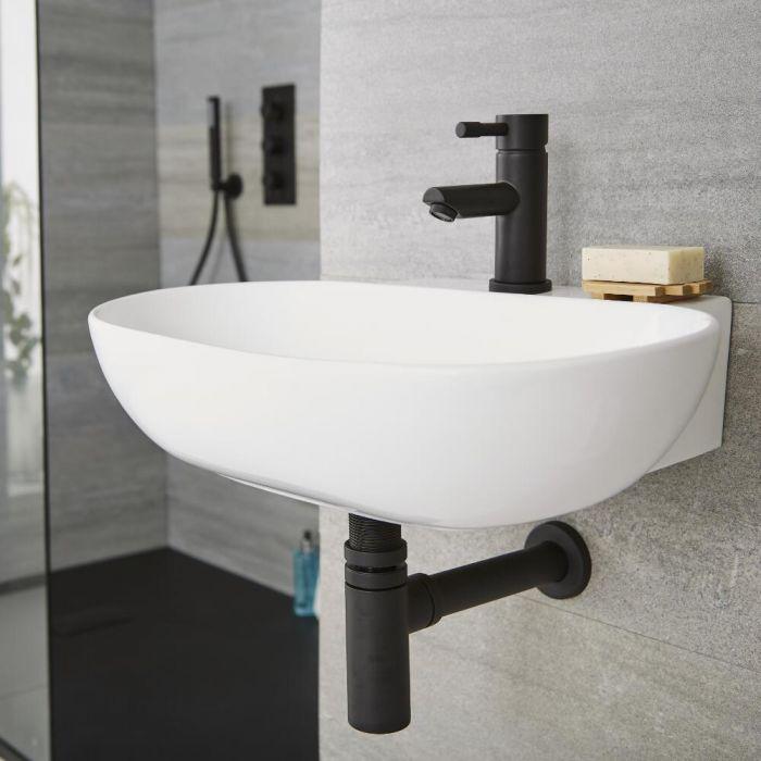 Nox -Schwarzer Siphon für Waschbecken
