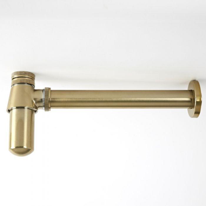 Siphon für Waschbecken, antikes Gold - Alice