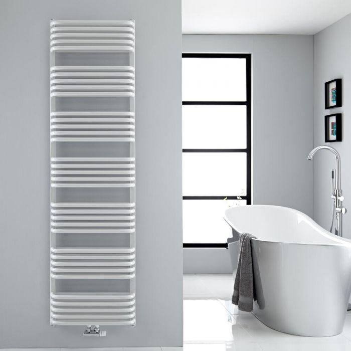 Handtuchheizkörper Vertikal Mittelanschluss Weiß 1800mm x 500mm 1743W - Arch