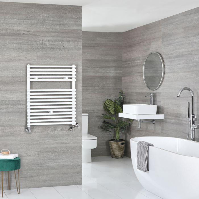 Badheizkörper Mischbetrieb Weiß 730mm x 450mm 452W – Arno