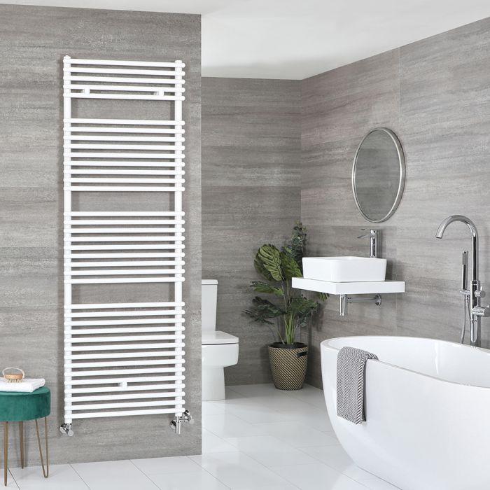 Badheizkörper Mischbetrieb Weiß 1738mm x 450mm 1046W – Arno