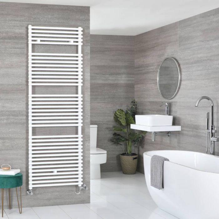Badheizkörper Mischbetrieb Weiß 1738mm x 450mm 1043W – Arno