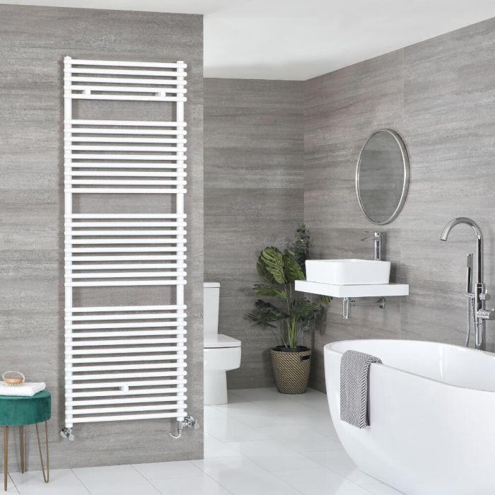 Badheizkörper Mischbetrieb Weiß Wählbare Größe – Arno