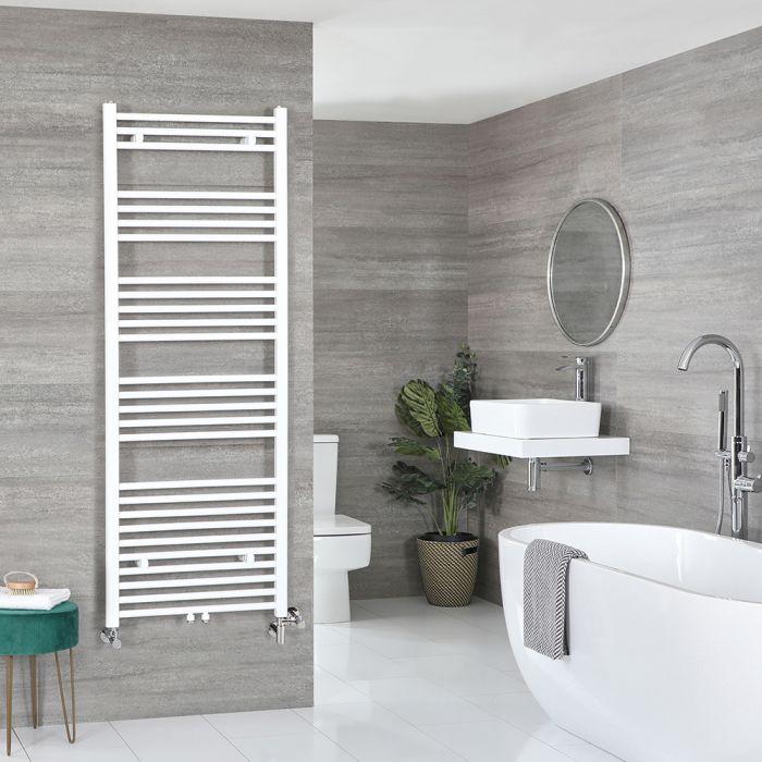 Badheizkörper Mischbetrieb Weiß 1600mm x 600mm 994W – Neva