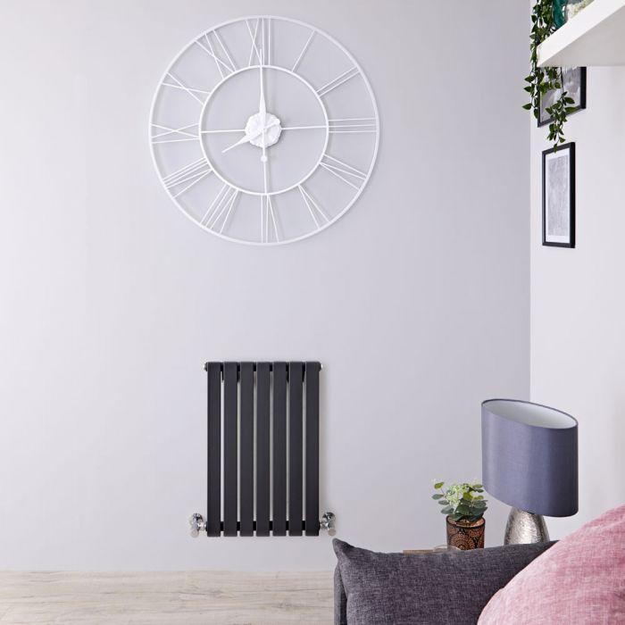 Design Heizkörper Horizontal Anthrazit 635mm x 420mm 420W (einlagig) - Sloane
