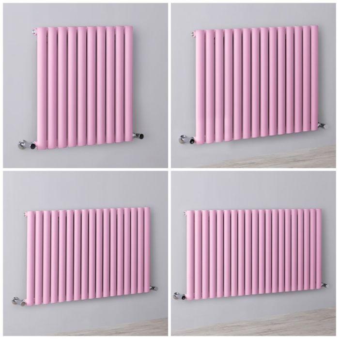 Design Heizkörper Horizontal Rosa Einlagig Größe Wählbar – Revive