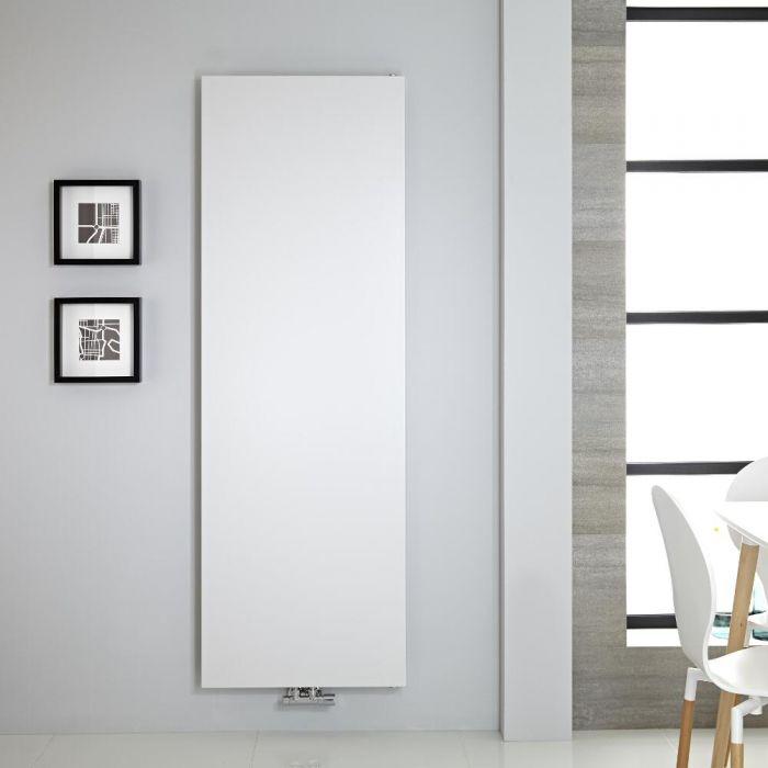 Design Heizkörper  flach vertikal - 1800mm x 600mm, 1404W - Weiß - Rubi
