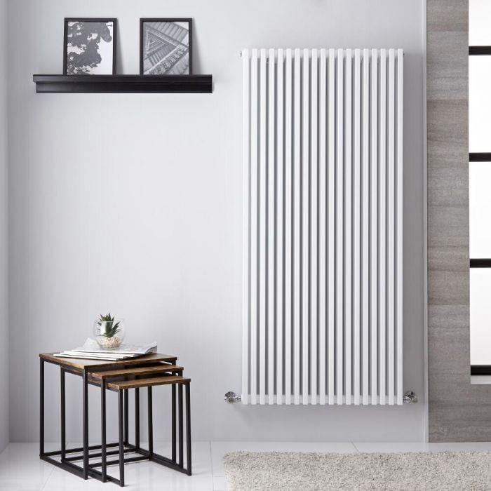 Design Heizkörper Vertikal Weiß 1344W 1506mm x 680mm - Neive