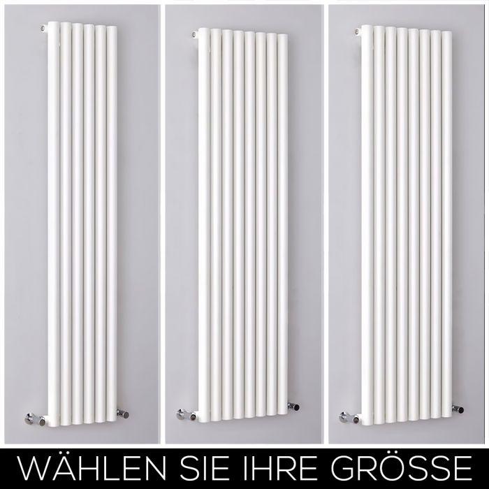Design Heizkörper Vertikal Weiß Alle Größen - Savy